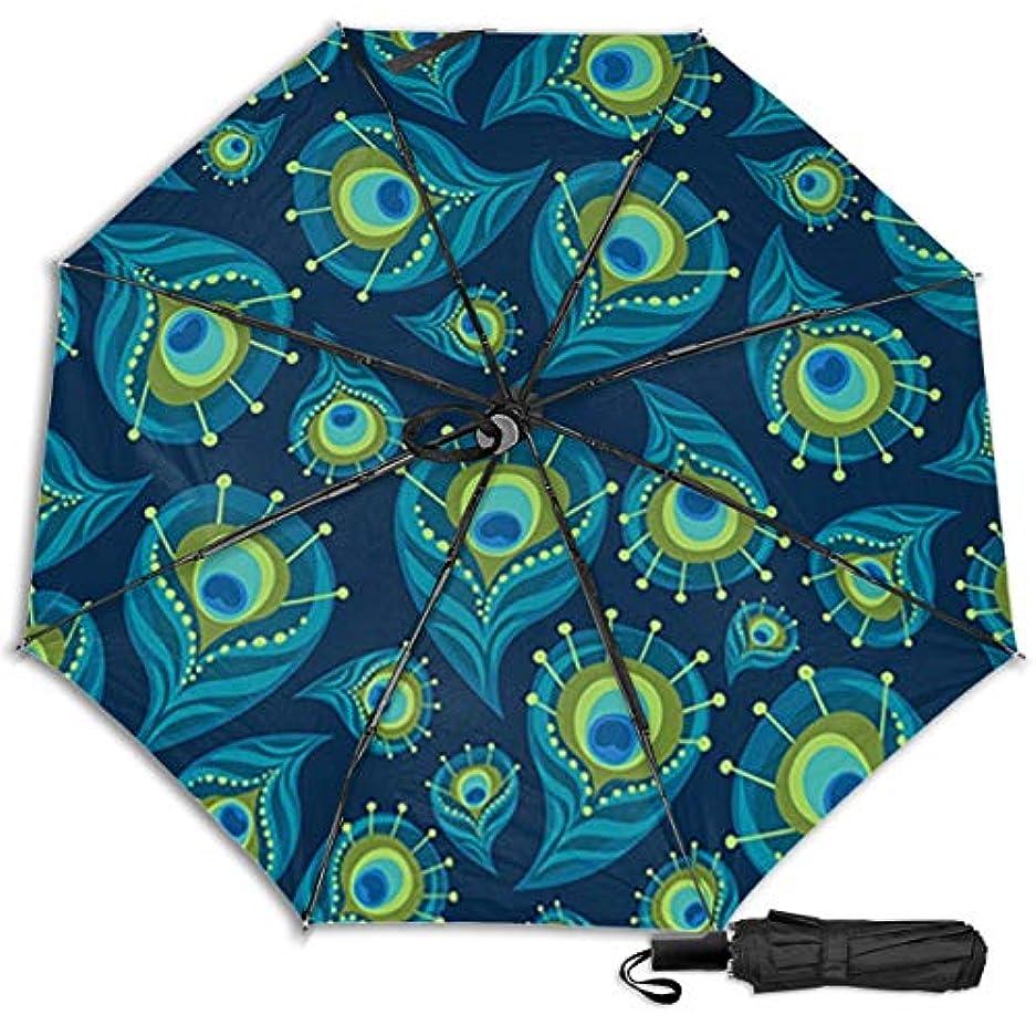 肌寒い血まみれの動ペイズリー?ピーコック日傘 折りたたみ日傘 折り畳み日傘 超軽量 遮光率100% UVカット率99.9% UPF50+ 紫外線対策 遮熱効果 晴雨兼用 携帯便利 耐風撥水 手動 男女兼用