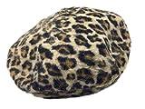 アニマル柄 ベレー帽 豹柄バスク ハット leopard parttern Beret ベレー帽 レディース