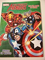 Marvel the Mighty Avengers Big Fun Book to Color ~ Brave in Battle by Innovative Design 101 [並行輸入品]