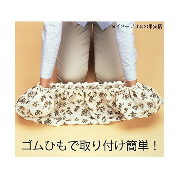 日本製 洗える エアコンカバー 室内用 (リモ...の紹介画像3