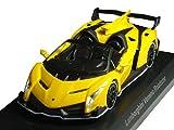 京商 1/64 ランボルギーニ ミニカーコレクション6 ヴェネーノ ロードスター 黄色