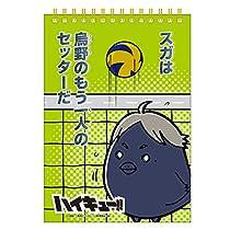 ヒサゴ スケッチブック ハイキュー!! 菅原孝支 B6サイズ 無地 HG5273