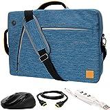 VanGoddyスレート3- in - 1ハイブリッドノートパソコンバッグW / 3個入りアクセサリーバンドルfor Apple MacBook / MacBook Air / MacBook Pro / 11