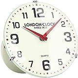 LONDON CLOCK 置時計 アナログ バリー ホワイト LO-06385