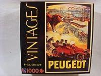 Vintages 1000ピースジグソーパズル:プジョー