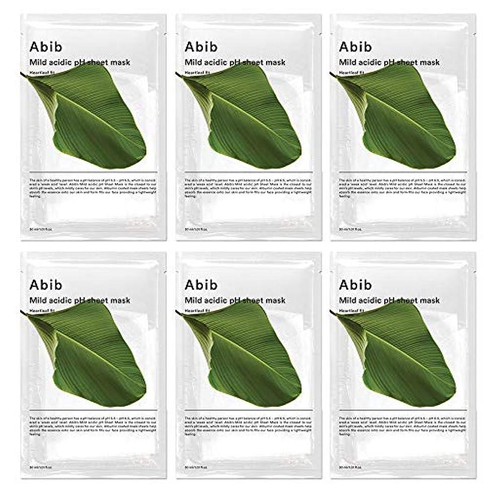 用量キャプテンブライ超音速ABIB MILD ACIDIC pH SHEET MASK_ HEARTLEAF FIT/弱酸性phシートマスク ドクダミフィット(10枚)日本国内発送
