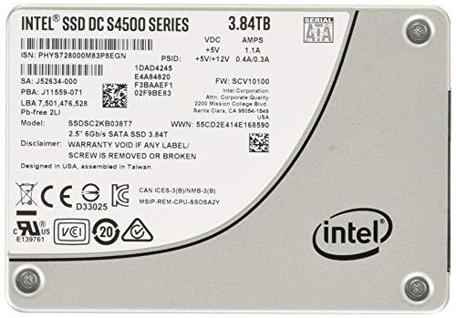 インテル® SSD DC S4500 シリーズ 3.8TB 2.5inch SATA 6 Gb/s 3D1 TLC SSDSC2KB038T701