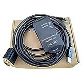 Morismoon 1pack / lot Allen Bradly SLCシリーズPLCプログラミングケーブル1747-UICデータケーブルUSB-1747 PICダウンロードラインに対応