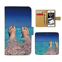 (ティアラ) Tiara GALAXY S8 Plus SM-G955 スマホケース 手帳型 ポスター 手帳ケース カバー PHOTO 女性 セクシー 水着 F0176030094403