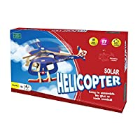 Solar Helicopter - Easy to Assemble! - Model - Green Board Games