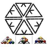 ビリヤード ラックシート 三角形ラック for 8 / 9 / 10ボール用 プールテーブル
