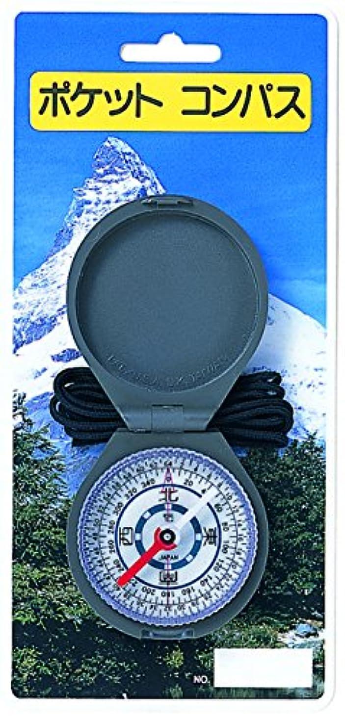 見習い予算非効率的なハイマウント(HIGHMOUNT) HM ポケットコンパスN夜光/和 11205