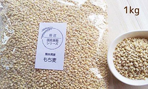 もち麦 国産 1kg カラダにいい 熊本産 愛情もち麦 即納 【ただいま春のセール中】