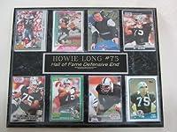 Los Angeles Raiders Howie Long 8カードPlaque