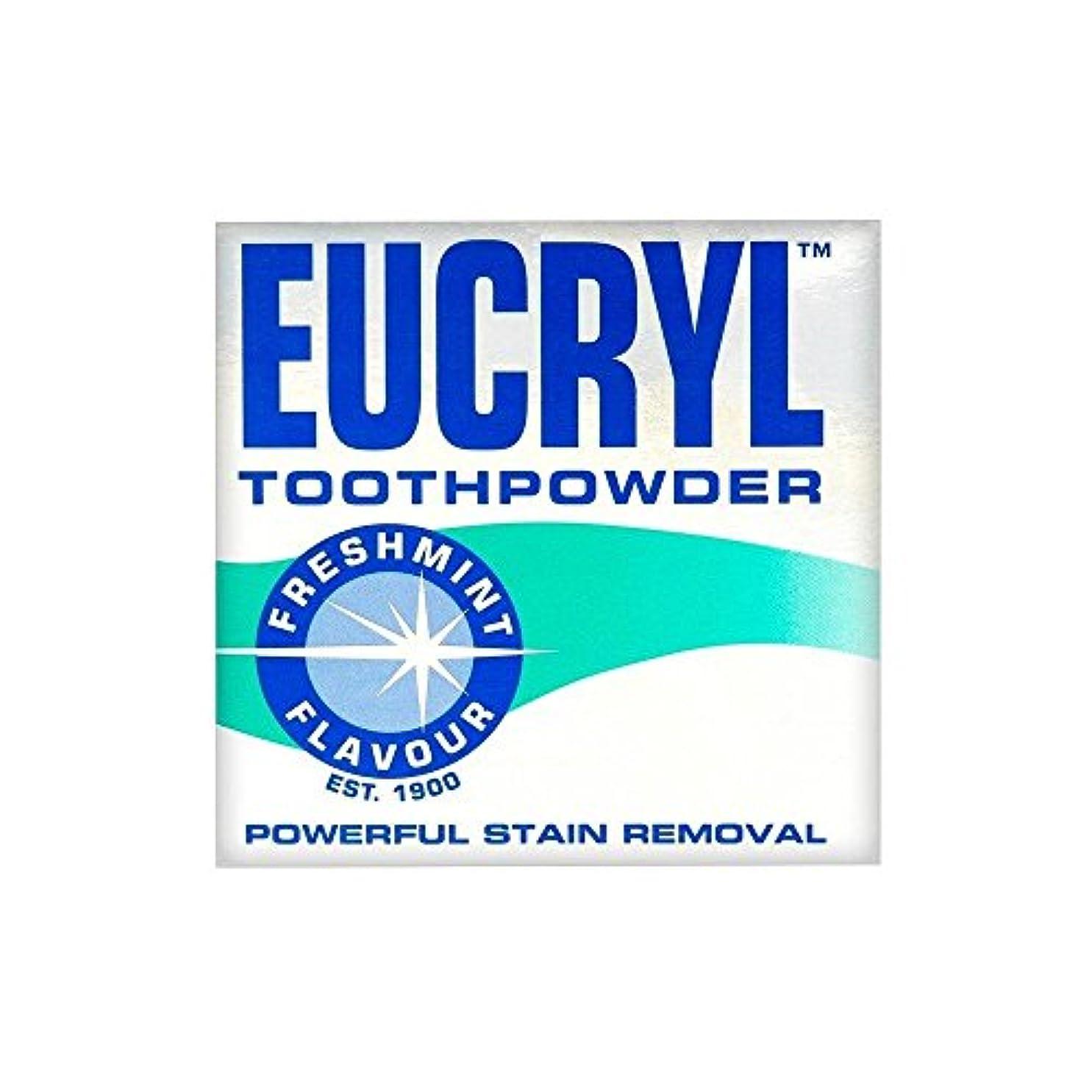 フロー長さ喪Eucryl Smokers Tooth Powder Freshmint Flavour (50g) Eucryl喫煙者の歯の粉末freshmint風味( 50グラム) [並行輸入品]