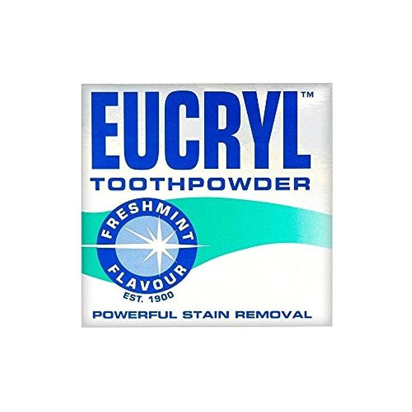 痛み模索エキスパートEucryl Smokers Tooth Powder Freshmint Flavour (50g) Eucryl喫煙者の歯の粉末freshmint風味( 50グラム) [並行輸入品]