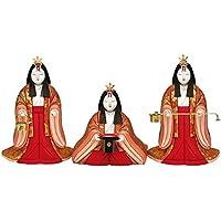 人形工房天祥 雛人形 真多呂作 木目込み人形 三人官女 1417-021 金鈴官女 ひな人形