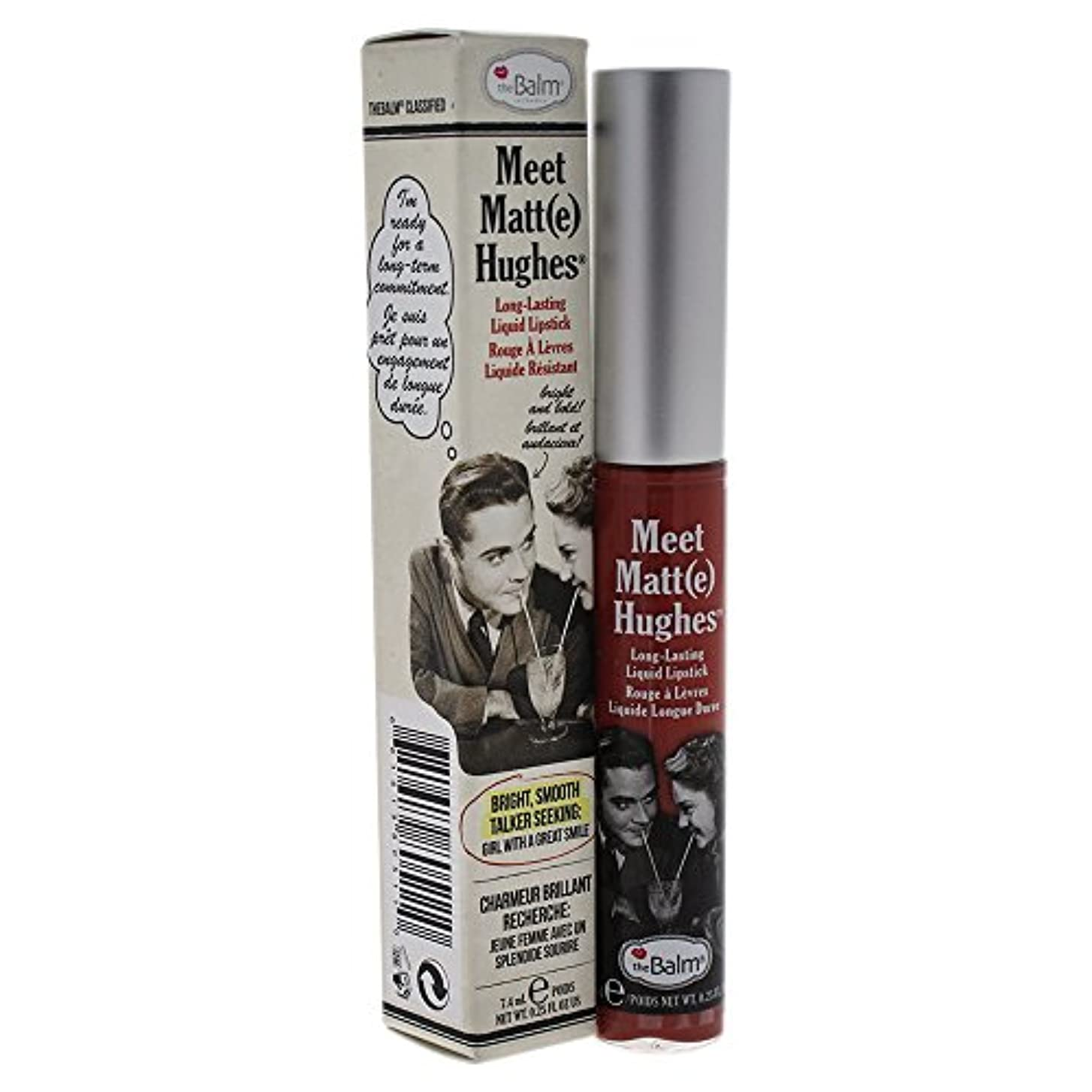 ウェイトレス代わりに遅らせるザバーム Meet Matte Hughes Long Lasting Liquid Lipstick - Committed 7.4ml/0.25oz並行輸入品