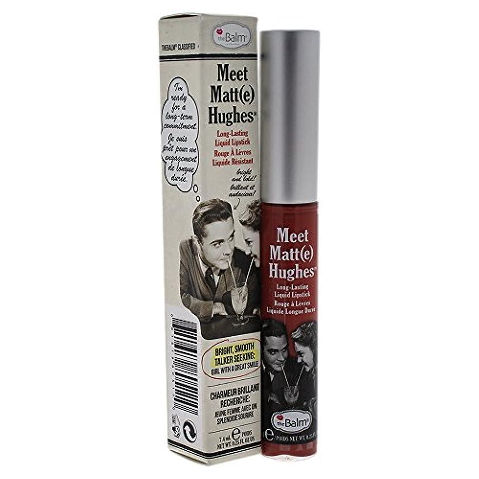 ピケ確かな側溝ザバーム Meet Matte Hughes Long Lasting Liquid Lipstick - Committed 7.4ml/0.25oz並行輸入品