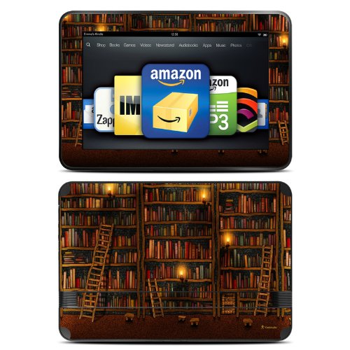 DecalGirl スキンシール Kindle Fire HD 8.9専用スキン - Library