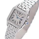 Cartier(カルティエ) サントス ドゥモワゼル レディース腕時計(中古) W25064Z5 ホワイト文字盤/シルバー SS クォーツ