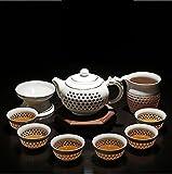 miyare(ミヤレ) 茶道具 中国茶道具 茶器セット 急須セット 工夫茶 9点セット (2)