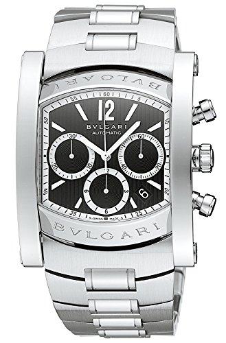 [ブルガリ]BVLGARI 腕時計 アショーマ ブラック文字...
