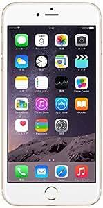 Apple iPhone 6 Plus 64GB ゴールド 【au 白ロム】MGAK2J