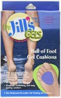 Dr. Jill's Ball-of-foot Gel Cushions, 1/4 Thick, 2/box by Dr. Jill's