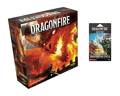 D & DドラゴンファイアDeckbuildingゲームバンドル: D & Dドラゴンファイアベースセット+ Adventure Pack–シャドウover Dragonspear城