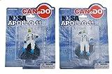 1: ドラゴンモデルズCan.Do 20058-03 ディスプレイ モデル NASA アポロ 11 Astronauts 月 Landing 7月 20th 1969【並行輸入品】