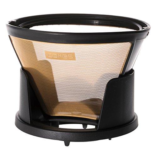 コレス コーヒードリッパー 丸山珈琲共同開発 ゴールドフィルター 2-8杯用 ペーパーフィルター不要 C285