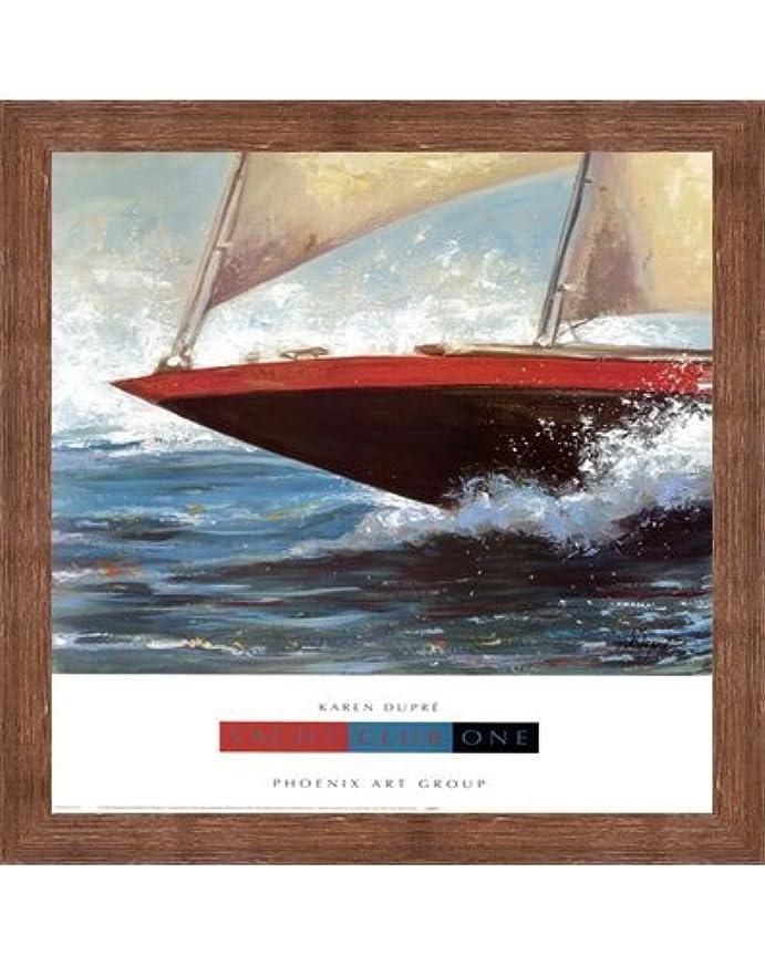 介入する彼気づかないヨットクラブOne by Karen Dupre – 19 x 24インチ – アートプリントポスター LE_160422-F10570-19x24