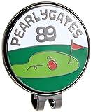 [パーリーゲイツ] マーカー PG りんご 半立体 ゴルフ マーカー 053-7284025 053-7284025 101 レッド