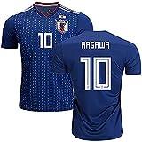 サッカー日本代表ワールドカップ2018ホーム半袖ユニフォーム No.10 香川真司 S