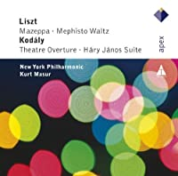 Mazeppa & Mephisto & Theatre Overture by KURT / NEW YORK PHILHARMON MASUR (2012-10-30)