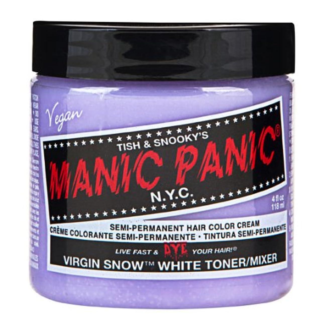パントリーシンプトンいくつかのスペシャルセットMANIC PANICマニックパニック:Virgin Snow (ヴァージン?スノー)+ヘアカラーケア4点セット