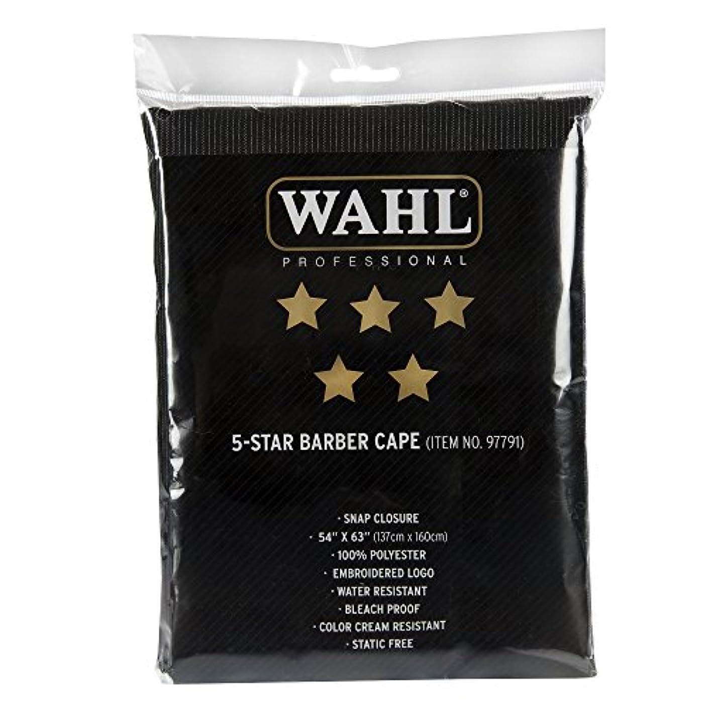 干渉バックグラウンド過半数wahl 5-STAR barber cape カットクロス