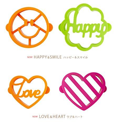 BRUNO パンケーキ型 BHK061-LOVE BHK061-LOVE