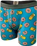 Underboss Men's Homer Simpson Loves His Donuts Boxer Briefs