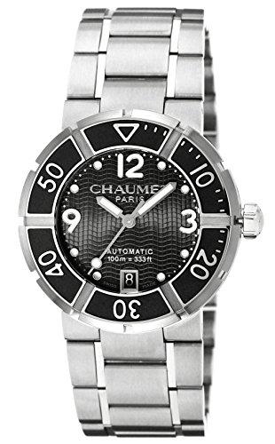[ショーメ]CHAUMET 腕時計 クラスワン ブラック文字盤 自動巻 100m防水 W1768138B メンズ 【並行輸入品】