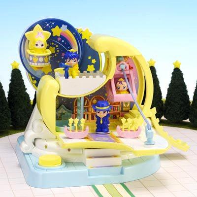 ふしぎ星のふたご姫 星の気球でつれてって!月の国のお城