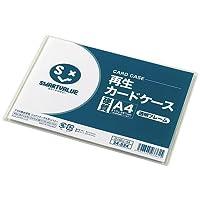 ジョインテックス 再生カードケース A4 硬質 (透明フレームタイプ) (20枚入) 386-801