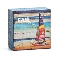 Demdacoダニー・フィリップスの文化Calm Sailボックスサイン、4インチ