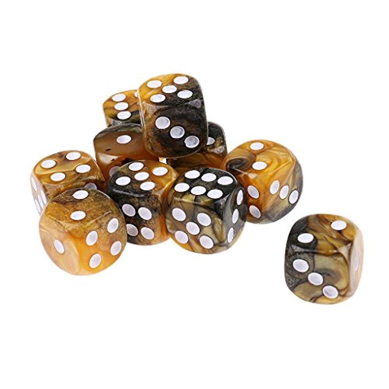 はず配偶者機構10個 耐用性 アクリル ダイス 骰子 MTG RPGゲーム用 アクセサリー 全6選択 - スタイル5