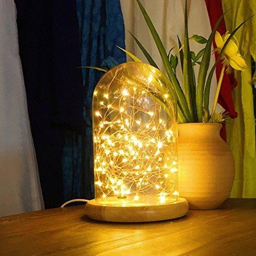 HOMAKAベッドサイドランプ usb テーブルランプ ナイトライト雰囲気作り 屋内間接照明/クリスマスライト