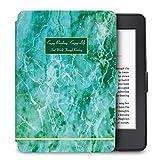WALNEW Amazon Kindle Paperwhiteカバー キンドルペーパーホワイト専用ケース 最も薄く、最軽量の保護 レザーケース マグネット機能搭載