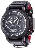 [エンジェルクローバー]Angel Clover 腕時計 ROENコラボ ブラック文字盤 クロノグラフ デイト TC48ROW2 メンズ