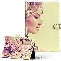 Lenovo TAB 7 Essential レノボ タブレット 手帳型 タブレットケース タブレットカバー カバー レザー ケース 手帳タイプ フリップ ダイアリー 二つ折り 写真・風景 写真 花 フラワー 人物 008918