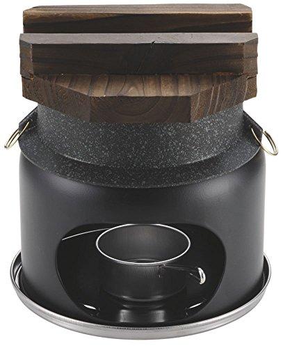 パール金属 釜飯 ご飯鍋 1合 炊き 蓋 コンロ付 セット ストロングマーブル 炊飯器 懐石 H-5364